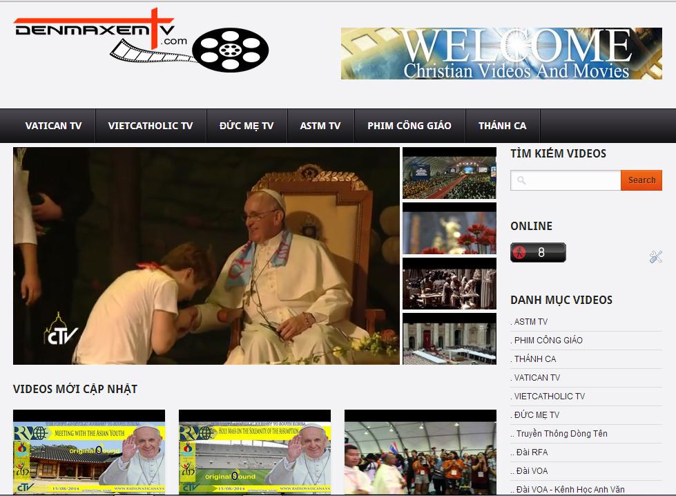 """Chương trình truyền hình Công Giáo Online """"ĐẾN MÀ XEM TV"""" ngày 01 & 02 & 03.10.2014"""